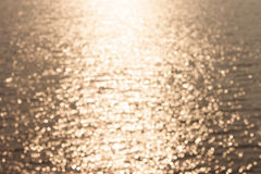 Light shining on lake Stock Image