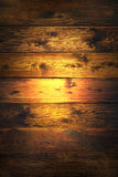 Light shining on wooden background Royalty Free Stock Photo