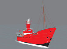 Light Ship Royalty Free Stock Photos