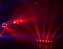 Light show at the Concert Royalty Free Stock Image