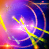 Light show. Stock Photography