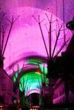 Light show on Fremont Street Stock Photos