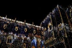 Light show at Palais des Papes, Avignon Stock Photo