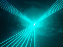 Light show rays  in disco club. A light show in disco club Stock Photo
