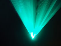 Light show rays in disco Stock Image