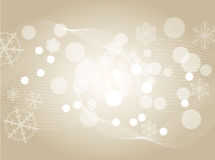 Light silver abstract Christmas background with wh Stock Photo