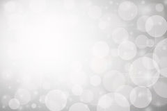 Light silver abstract Christmas background. Silver background for your design Stock Image