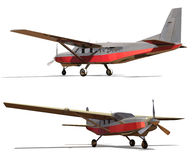 Light single-engine plane. Stock Photography