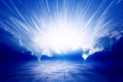 Light from sky Royalty Free Stock Photos