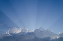The light from the sky. Stock Images