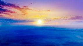 Light from sky . Religion background . Beautiful cloud . background sky at sunset and dawn stock photo
