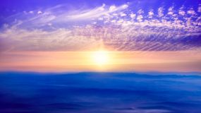 Light from sky . Religion background . Beautiful cloud . background sky at sunset and dawn royalty free stock images