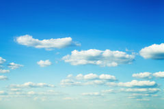 Light sky. In summer weather Royalty Free Stock Photos