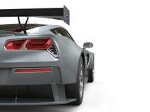 Light slate gray awesome sports car Stock Photo
