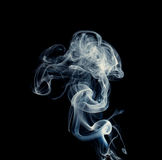 Light smoke. Royalty Free Stock Photos