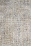 Light and smooth texture of burlap in high definition Stock Photography