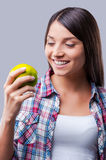 A light snack. Royalty Free Stock Images