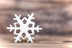 Light Snowflake Background Stock Images