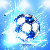 Light soccer stage Stock Photo