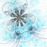 Light and soft fractal flower Royalty Free Stock Photo