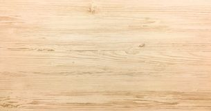 Light soft wood surface as background, wood texture. Stock Image