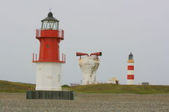 Lighthouses and foghorn Stock Image