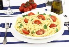 Light spaghetti Stock Image