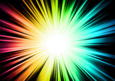 Light Sparkle with Rainbow Colurs Stock Images