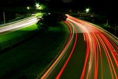 light speed Στοκ Φωτογραφίες