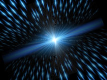 Light and speed. Background with element light and motion speed Stock Images