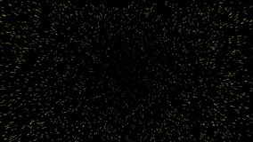 Light speed. Warp jump space travel. Stars sharply approach to the viewer. Motion effect in 4k ultra HD video quality stock footage