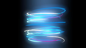 Light spins, abstract, art, lines, play, background. stock video