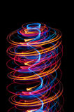 Light spiral Royalty Free Stock Photos