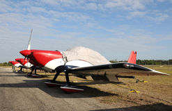 Light sports aircraft Stock Photos