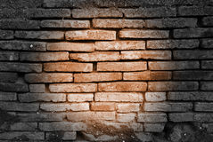 Light spot on a wall Royalty Free Stock Images
