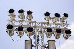 Light spots Lite useless in daylight. Royalty Free Stock Image