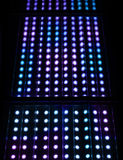 Light spots matrix background Royalty Free Stock Image