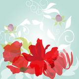 Light spring background. Universal template for valentine's card and other design Stock Photography