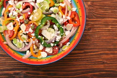 Light spring salad Stock Photo