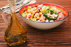 Light spring salad Royalty Free Stock Photography