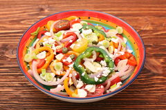 Light spring salad Royalty Free Stock Photo