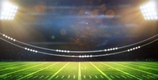 Light of stadium. 3d Background Royalty Free Stock Image