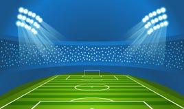 Light stadium mast vector illustration Royalty Free Stock Photo