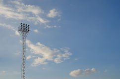 Light stadium or Sports lighting Royalty Free Stock Images