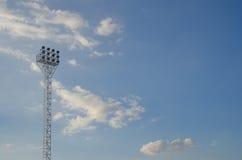 Light stadium or Sports lighting Royalty Free Stock Images