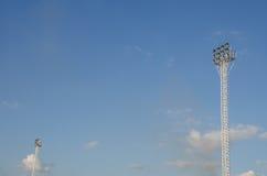 Light stadium or Sports lighting Stock Image
