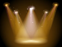 Light and stage Stock Photos