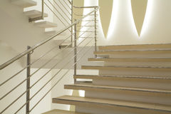 Light stairs Stock Images