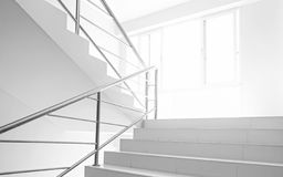 Light and stairs Stock Images