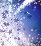 Light the star background. Royalty Free Stock Image